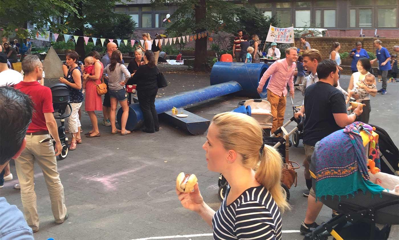 Besucher Frühchenfest