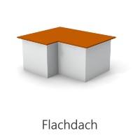 Grafik Flachdach