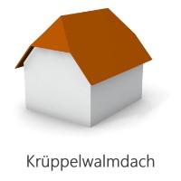 Grafik Krueppelwalmdach