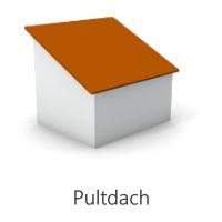 Grafik Pultdach