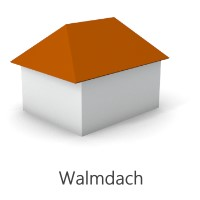 Grafik Walmdach