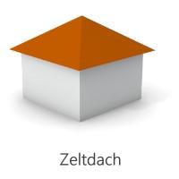 Grafik Zeltdach